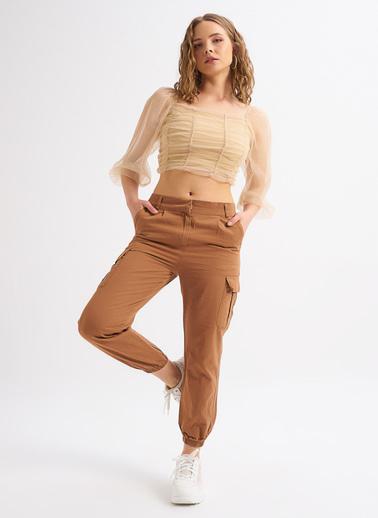 Quzu Pantolon Camel